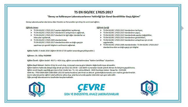 TS EN ISO/IEC 17025